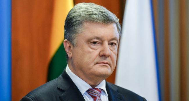 Порошенко призвал Данилюка выйти из состава команды Зеленского