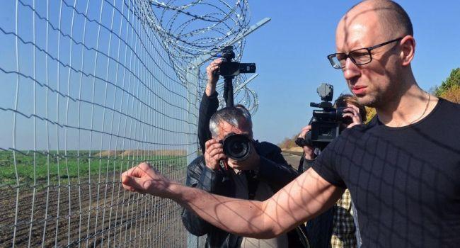 Стену на границе с Россией не построили даже на одну треть