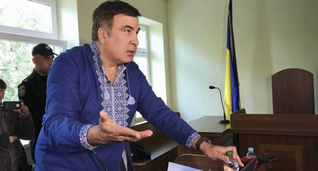 Саакашвили посоветовал Зеленскому начать свое президентство с посадки Порошенко и его окружения