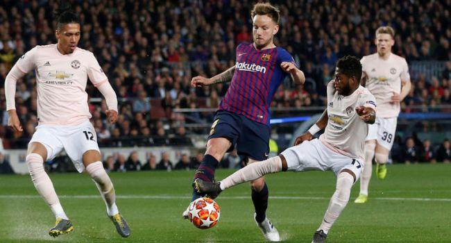 «Барселона» поглумилась над «Манчестер Юнайтед» на «Камп Ноу»
