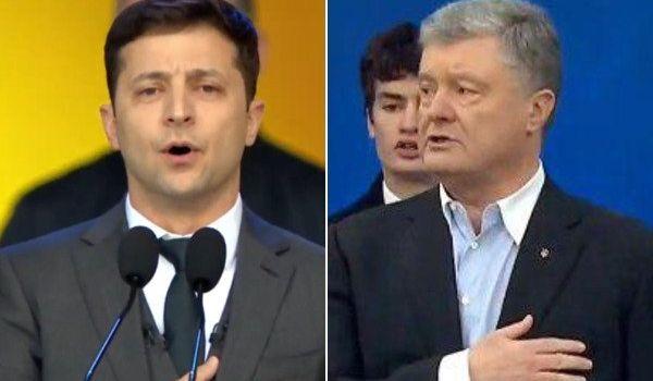 СМИ: в России трансляцию дебатов Порошенко и Зеленского смотрели минимум 2 миллиона человек