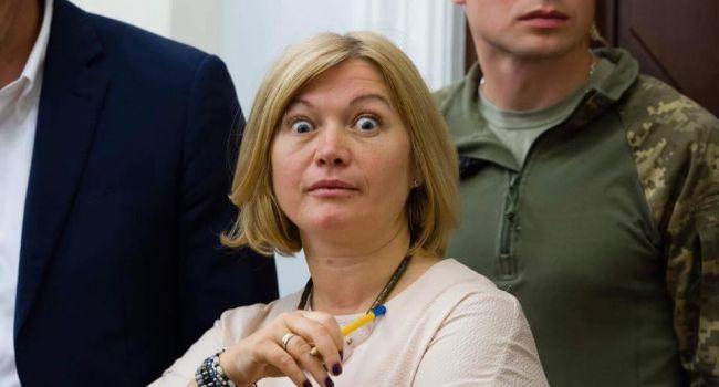 «И где-то тихо заплакала Мерил Стрип»: пользователи посмеялись над показушным падением на колени Геращенко во время дебатов