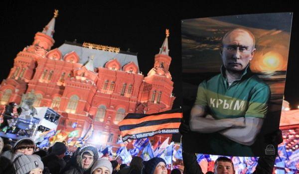 Марионетки Путина в Крыму потребовали от новой украинской власти признать полуостров российским