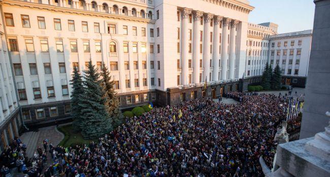 Политолог: вчерашняя реакция сторонников Зеленского, как минимум, настораживает