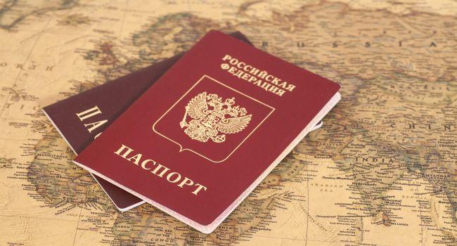 Блогер: «Очень интересная реакция на выдачу российских паспортов гражданам Донбасса»