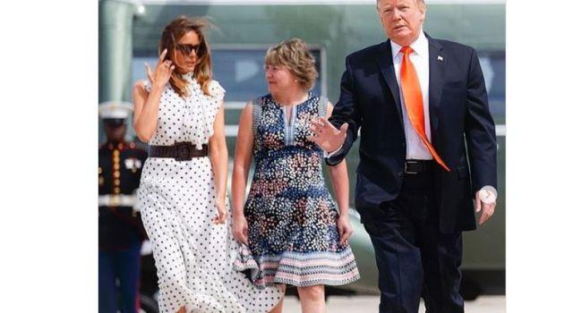 Мелания Трамп показала, как должен выглядеть идеальный весенний образ