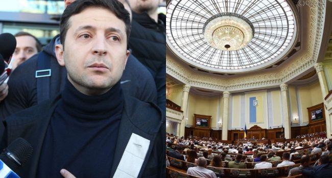 Начав игру с шантажом депутатов роспуском парламента, Зеленский может ее проиграть - Фельдман