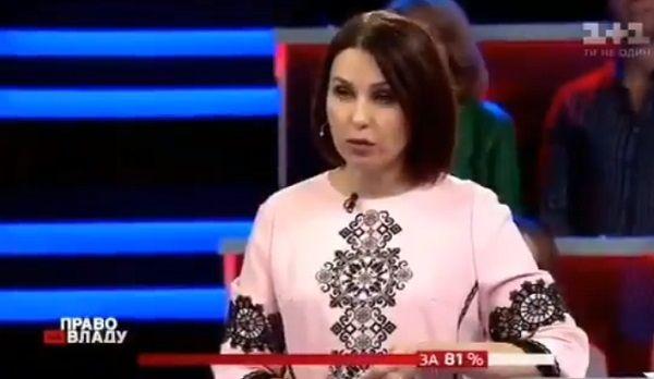 «Оговорка по Фрейду»: телеведущая Мосейчук назвала президентом Разумкова, а не Зеленского