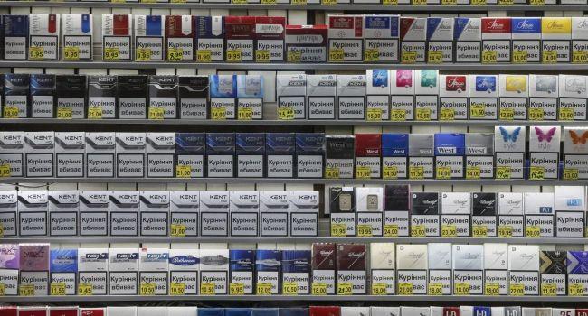 Вгосударстве Украина вырастет стоимость табачных изделий практически на20% — НБУ