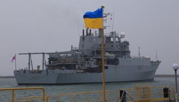 «Психологический предохранитель в канун 9 мая»: в порт Одессы прибыл британский военный корабль