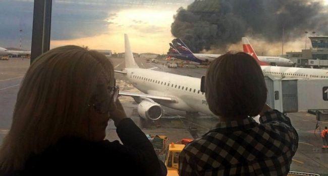 «Мог взорваться»: эксперт рассказал о главной ошибке экипажа самолета, который  загорелся в «Шереметьево»
