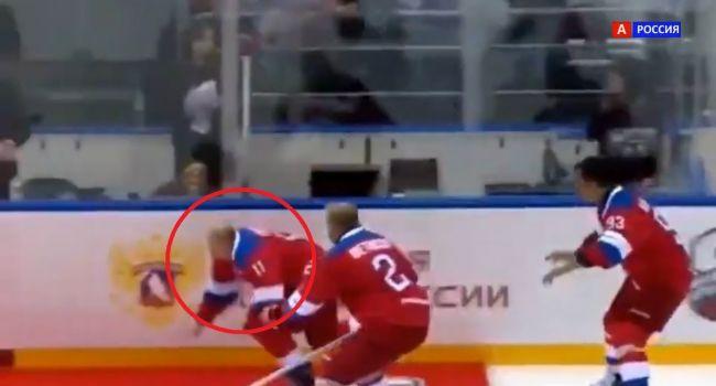 «Он не просто с ковром столкнулся, у него серьезная травма»: в РФ грядут громкие увольнения из-за падения Путина на хоккее