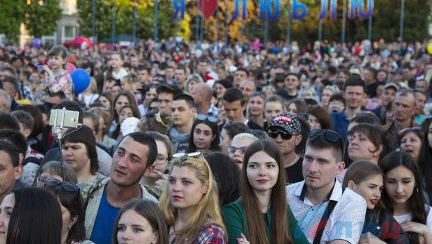 На концерт в Луганске с участием российских звёзд пришли 50 тысяч зрителей