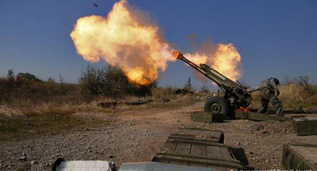 «Слава Украине! Героям Слава!»: бойцы ВСУ ударили точно в цель, по боевикам артиллерией