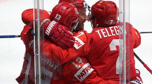Сборная России установила абсолютный рекорд на ЧМ по хоккею