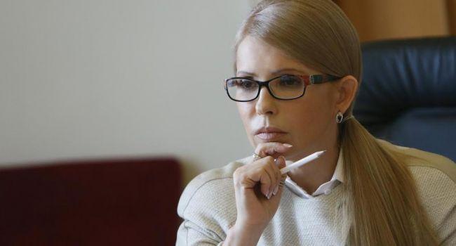 Тимошенко хочет возглавить правительство любой ценой, хотя ее время давно вышло - Соскин