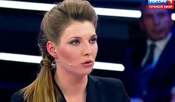 «Отвратительный и людоедский!»: невменяемая Скабеева, не подбирая слов, закатила панику из-за украинского «языкового закона»