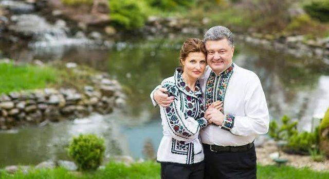 Марина Порошенко рассказала, как получила предложение руки и сердца от Петра Порошенко