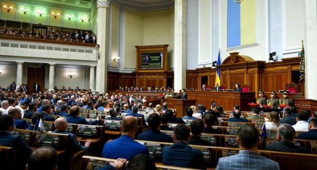 Политолог: сегодняшнее собрание парламента напоминало стадо баранов