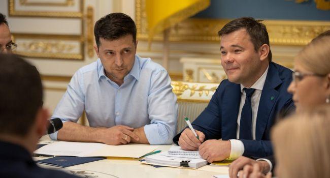 Богдана назначили главой АП под личные гарантии Коломойского и Портнова