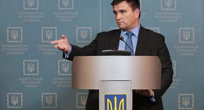 Климкин о длительности процесса возвращения Донбасса: Это среднесрочная история