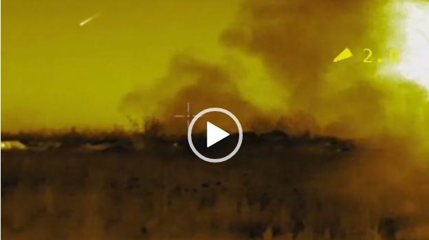 Вот так умеют только настоящие воины: бойцы ООС в полной темноте уничтожили позиции гибридных войск Путина