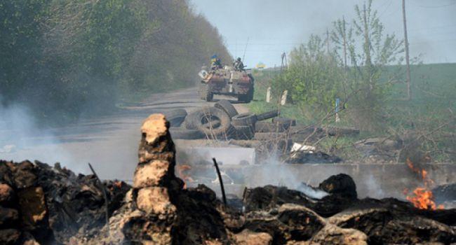 Российские наемники на Донбассе сфокусировали свои обстрелы на донецком направлении