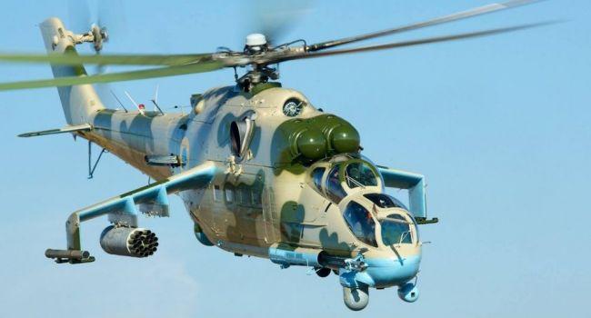 ВСУ внезапно подняли в воздух боевую авиацию: обнародовано видео действий «Ми-8» и «Ми-24»