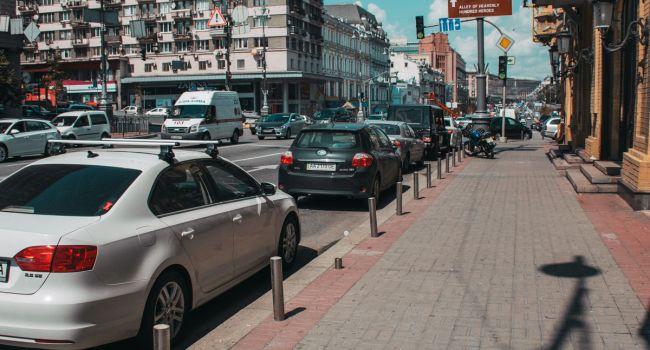 В Киеве анонсировали появление электронной парковки