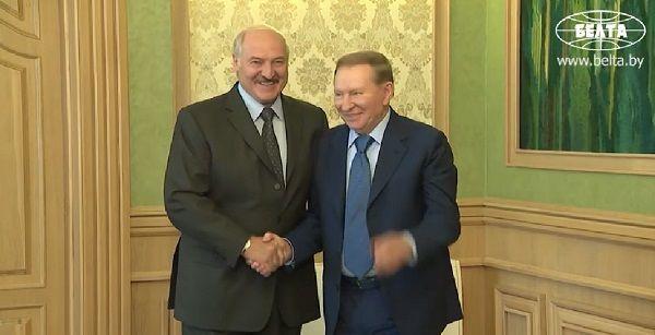 Кучма и Лукашенко провели встречу в Минске