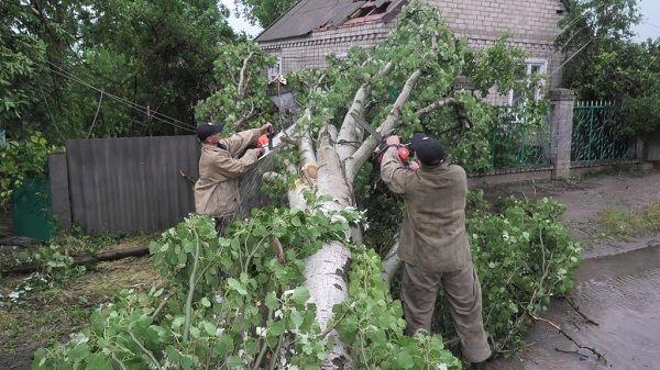 Падали столбы, сносило крыши: Херсонскую область накрыл страшный ураган