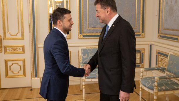 «Основная цель – это прекращение войны»: Зеленский провел встречу с главой ОБСЕ