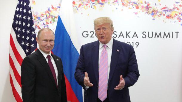Новый обман с ростом: глава Кремля пришел на встречу с Трампом на высоких каблуках