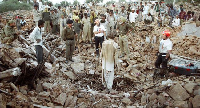 Индию сотрясло землетрясение: в стране началась паника