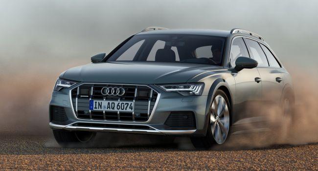 Компания Audi презентовала новое поколение семейства A6 Allroad