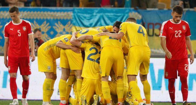 Отбор на Евро-20: Сборная Украины как катком прошлась по Сербии