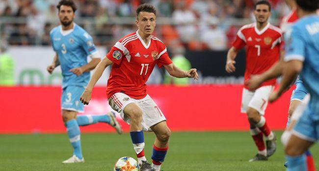 Сборная России по футболу установила абсолютный рекорд за всю историю