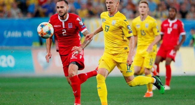 Отбор на Евро-20: Украина в непростом поединке минимально обыграла Люксембург