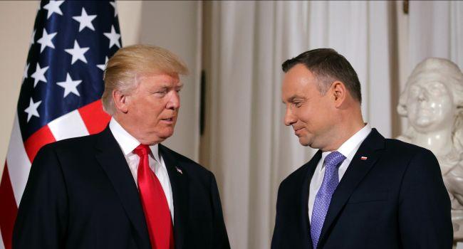 Дональд Трамп анонсировал визит в Польшу
