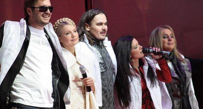 Блогер: Тимошенко заявила, что они с Тарутой объединятся с артистами Зеленским и Вакарчуком, чтобы не допустить к власти олигархов