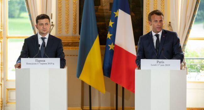 Оказывается, Порошенко на войне не зарабатывал: в Париже Зеленский дал понять, что война на Донбассе надолго