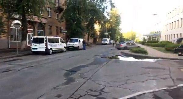 Киев: украинский телеканал обстреляли из гранатомета — полиция