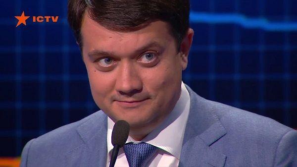 «Я это расцениваю, как коррупцию»: Дмитрий Разумков пообещал, что в «Слуге народа» никто не будет работать на олигархов