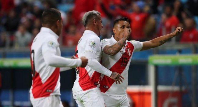 Сборная Перу стала вторым финалистом Копа Америка, разгромив чилийцев со счетом 3:0