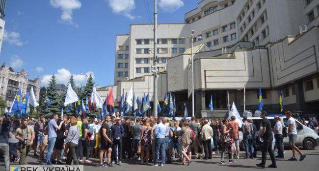 По указаниям с Банковой «Нацдружины» и «Нацкорпус» атаковали активистов «Европейской солидарности», – Павел Нусс