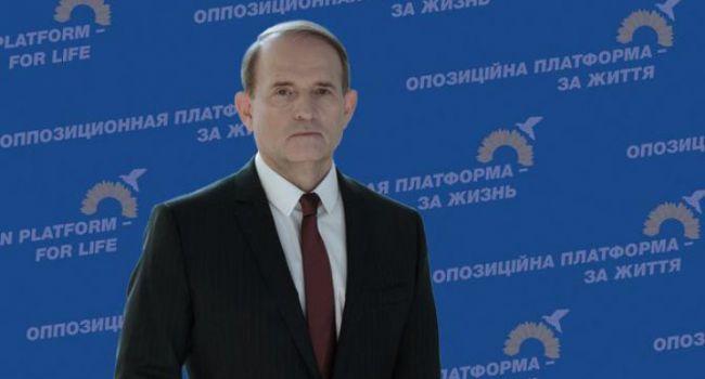 За счет провалов Зеленского рейтинг Медведчука растет семимильными шагами