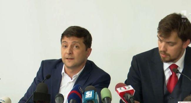Пятигорец о сказанном Зеленским: а, как же обещанные независимые от политического давления правоохранительные органы?
