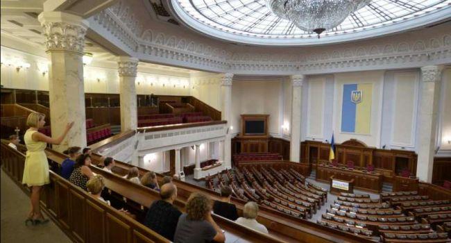 Определена пятёрка лидеров парламентского рейтинга