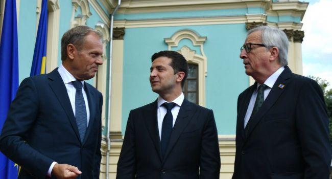 Эксперт: искусные дипломаты ЕС ничего не давая взамен, заставили Зеленского подписать то, что им было нужно