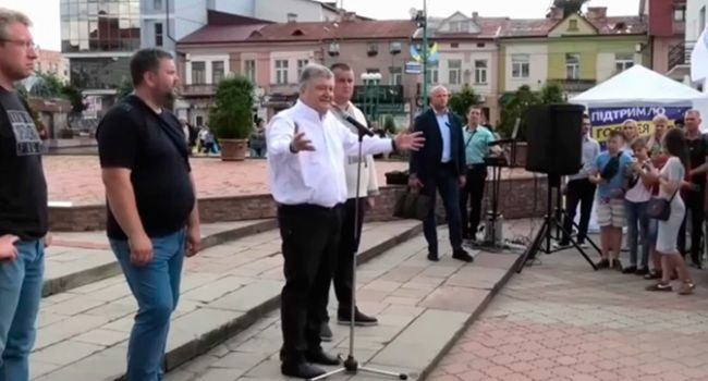 «Получите по морде!»: Порошенко прорвало после криков «Ганьба!» в Хмельницком
